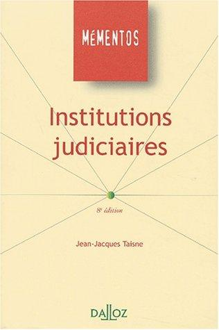 Download Institutions judiciaires