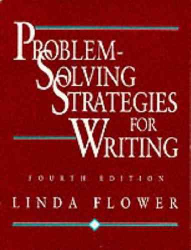 Download Problem-solving strategies for writing