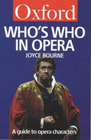 Download Who's Who in Opera