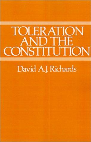 Download Toleration and the Constitution