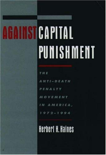 Download Against capital punishment
