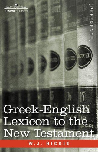 Download Greek-English Lexicon to the New Testament