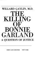 Download The killing of Bonnie Garland