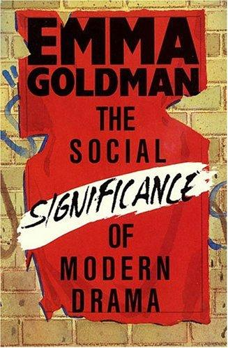Download The Social Significance of Modern Drama