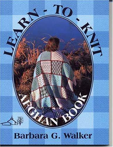 Learn-To-Knit-Afghan Book