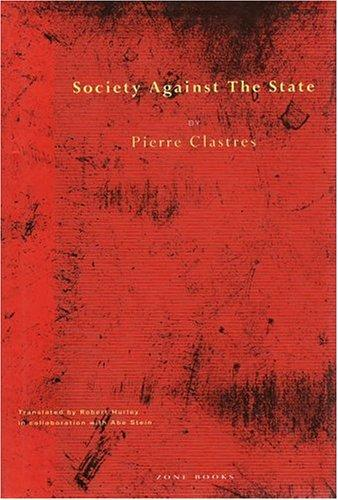 Download Society against the state