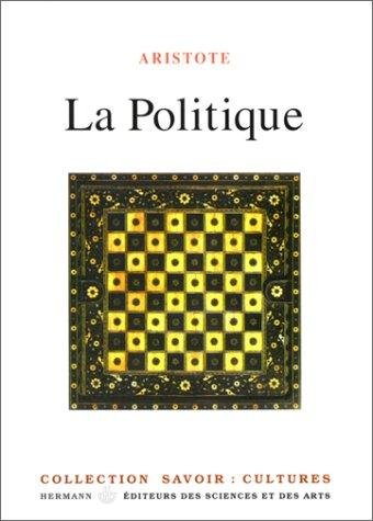 La politique by Aristotle, Pierre Louis