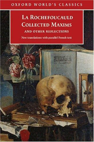 Collected Maxims and Other Reflections by François duc de La Rochefoucauld