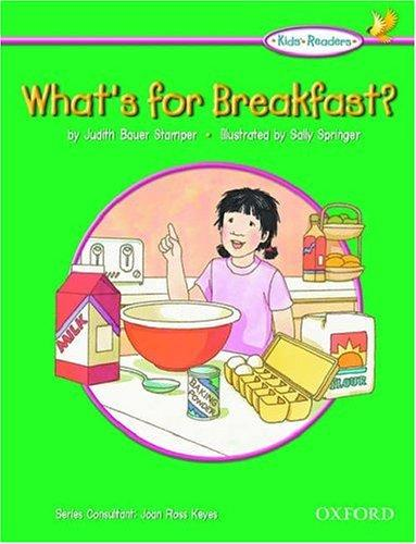 What's for breakfast? by Judith Bauer Stamper