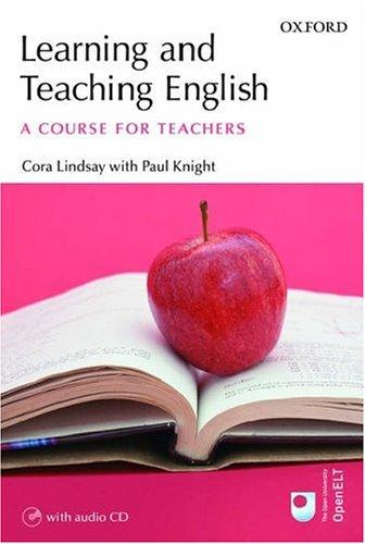 Learning And Teaching English by Cora Lindsay
