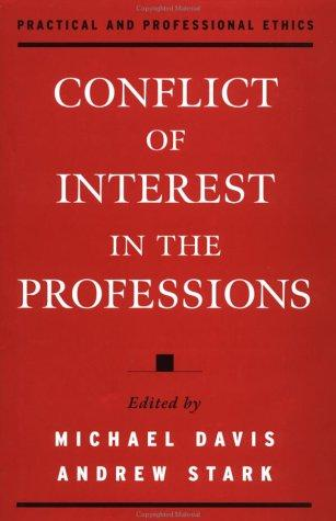 Conflict of interest in the professions by