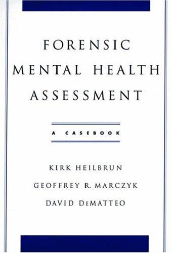 Forensic mental health assessment by
