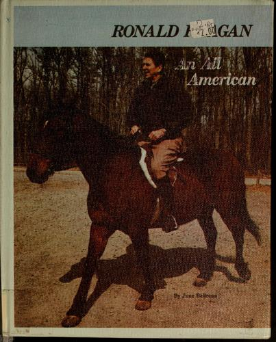 Ronald Reagan, an all-American by June Behrens